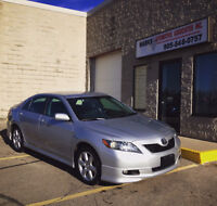 2007 Toyota Camry SE (104,000 kms) (Financing Available)