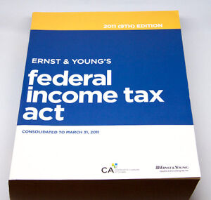 Ernst & Young's Federal Income Tax Act - 2011 (9th) Edition West Island Greater Montréal image 1