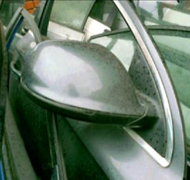 Audi q7 mk1 offside front door mirror grey 06-15