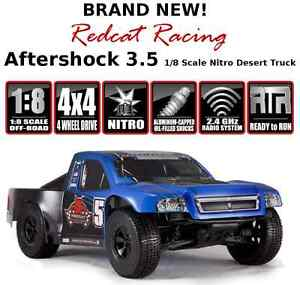 NEW! Aftershock 3.5 1/8 Scale Nitro Desert Truck