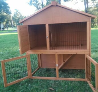 A FRAME RABBIT HUTCH STARTUP DEALS QUALITY CARE MINI LOPS Londonderry Penrith Area Preview