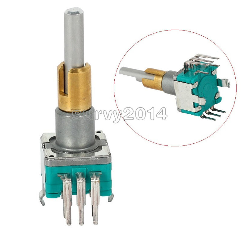 Rotary Encoders EC11EBB24C03 Dual axis encoder with switch 30 positioning number