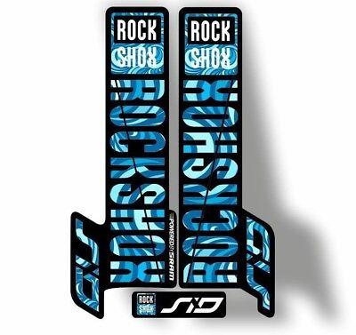 Rock Shox 2016 MONARCH Plus RT3 Rear Shock MTB Decal Sticker Adhesive White