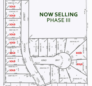 Small town living- vacant lots, new development in Oakville