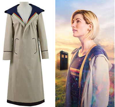 13th female Doctor who Cosplay Costume Coat 13th Doctor Jodie Cosplay Costume&21](Female Doctor Costume)