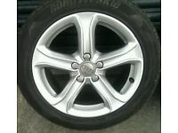 17 inch Audi wheels and tyres VW SEAT Skoda