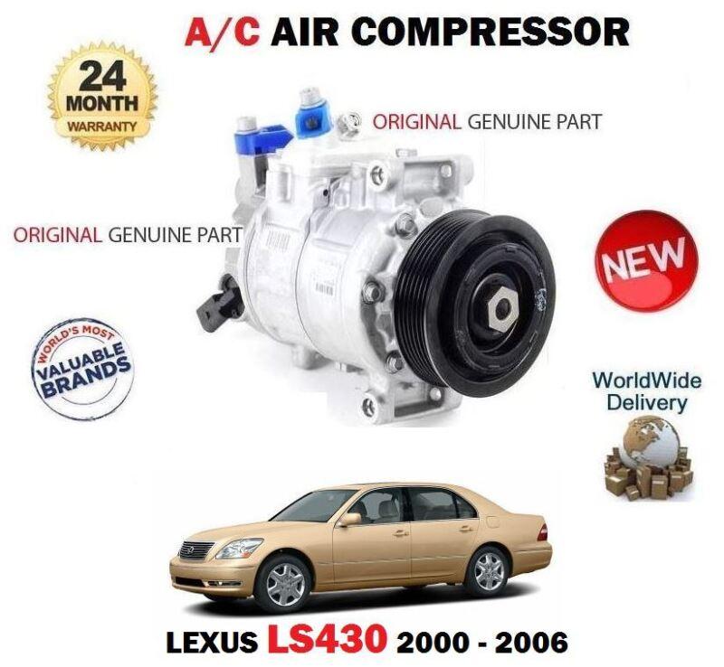 FOR LEXUS LS430 3UZ-FE UCF30 2000-2006 NEW ORIGINAL AC AIR CONDITION COMPRESSOR