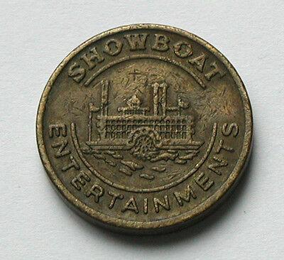 Machine Token/Coin - Thomas Automatics - Showboat Entertainments - steamboat