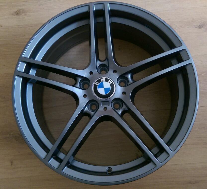 brand new set of bmw 19 313 alloy wheels 5x120 msport 3. Black Bedroom Furniture Sets. Home Design Ideas