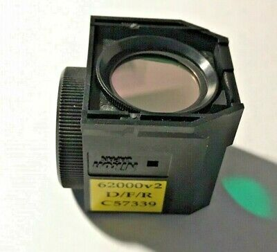 Nikon Dfr Triple Fluorescence Filter For Te Microscopes Missing Exciter