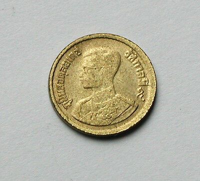 2500 (1957) THAILAND Rama IX Thai Coin - 5 Satang - circulated - tiny 14mm size