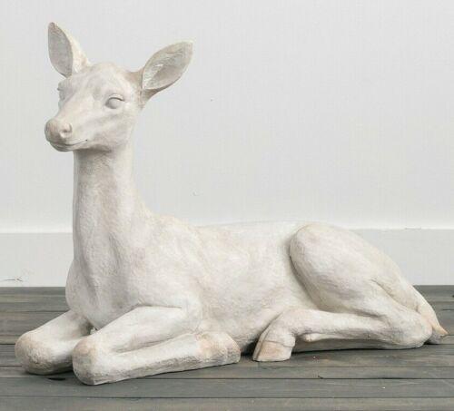 Deer Statue Doe Figurine 28 x 22
