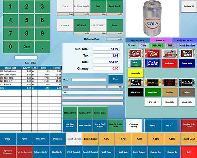 Pos Business Accounting Software W Retail Touch