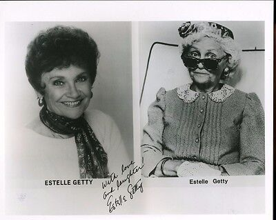 Estelle Getty Autograph Is Not Real Orig  8X10 Photo X2380