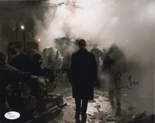 Christopher Nolan Batman Autographed Signed 8x10 Photo JSA COA #1