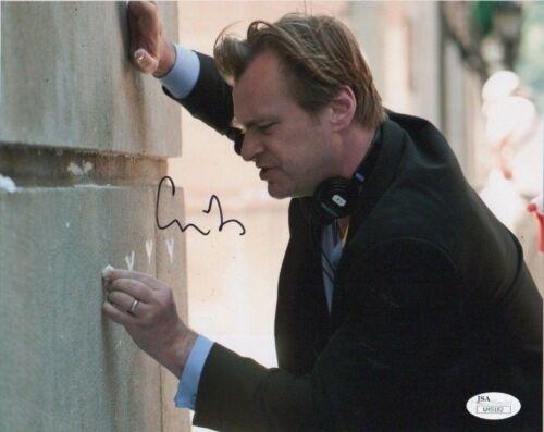Christopher Nolan Batman Autographed Signed 8x10 Photo JSA COA #2