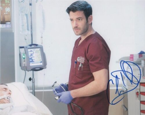 Colin Donnell Chicago Med Autographed Signed 8x10 Photo COA #G2