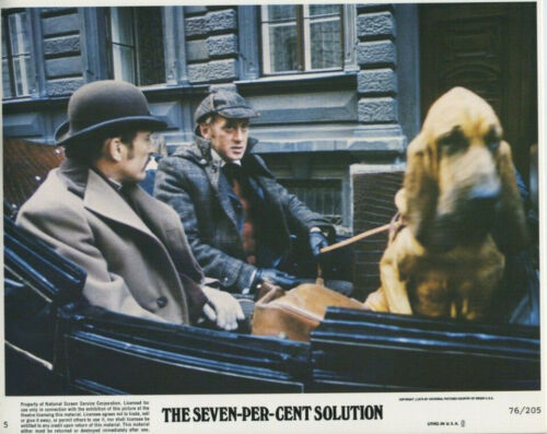 SEVEN-PER-CENT SOLUTION (1976) Original 8x10 Color Set of 12