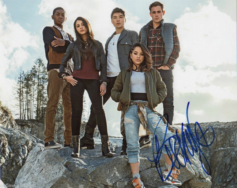 Becky G Power Rangers Autographed Signed 8x10 Photo COA #4