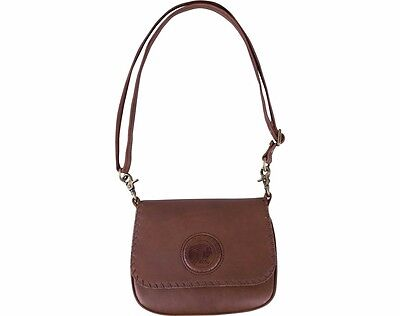GENUINE INDIAN MOTORCYCLE WOMENS CROSS BODY BAG TAN LEATHER 2863911