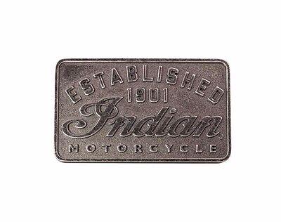 GENUINE INDIAN MOTORCYCLE MEN'S ESTABLISHED BELT BUCKLE 2863823