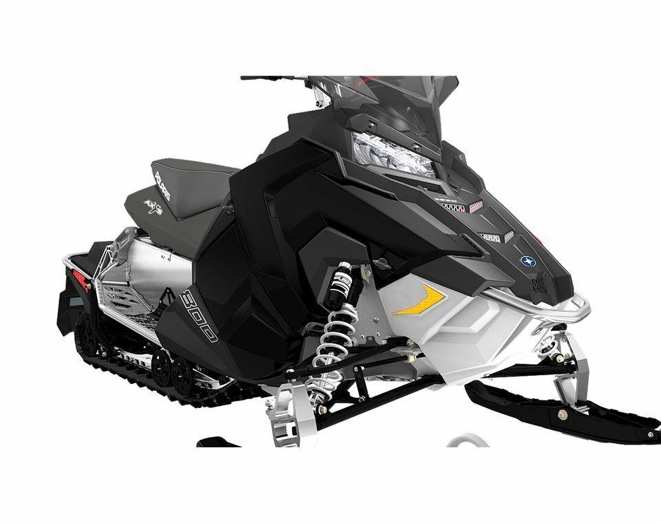 New OEM Polaris Snowmobile Black Left Side Panel - 5451230-666