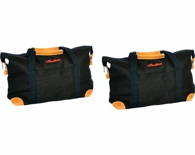 Indian Motorcycle Deluxe Saddlebag Travel Bags - Black 2880294