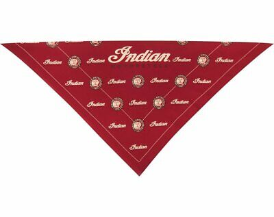 Indian Motorcycle Logo Bandana, Red