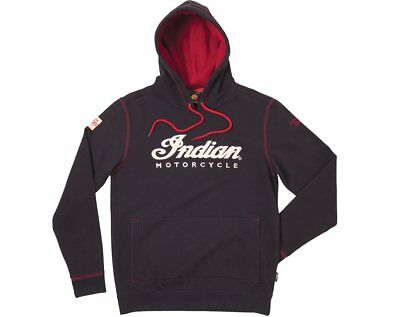 Indian Motorcycle Men's IMC Hoodie - Black - Size Small - 286369702