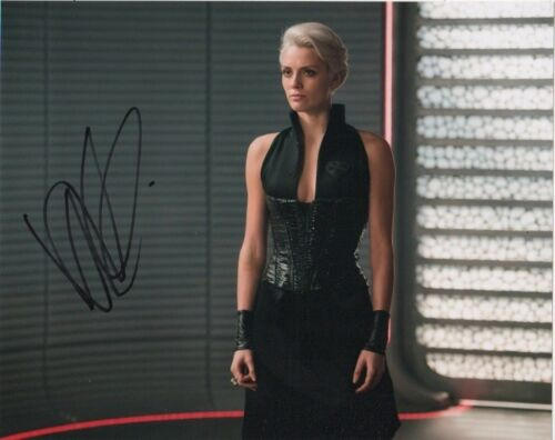 Wallis Day Krypton Autographed Signed 8x10 Photo COA #C84