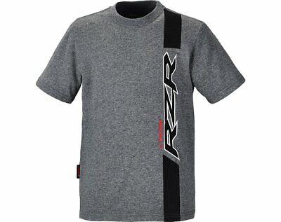 Polaris Youth Boys Garage RZR Short Sleeve Tee Comfy Cotton T-Shirt Gray Large