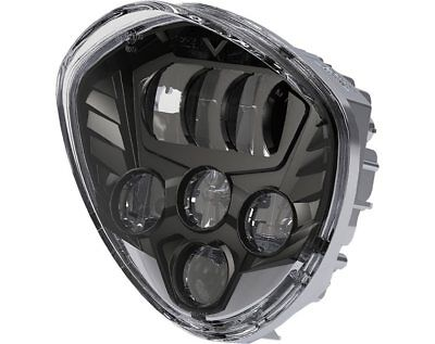 Victory Cross Country Tour Roads Magnum X-1 Beacon LED Headlight Black