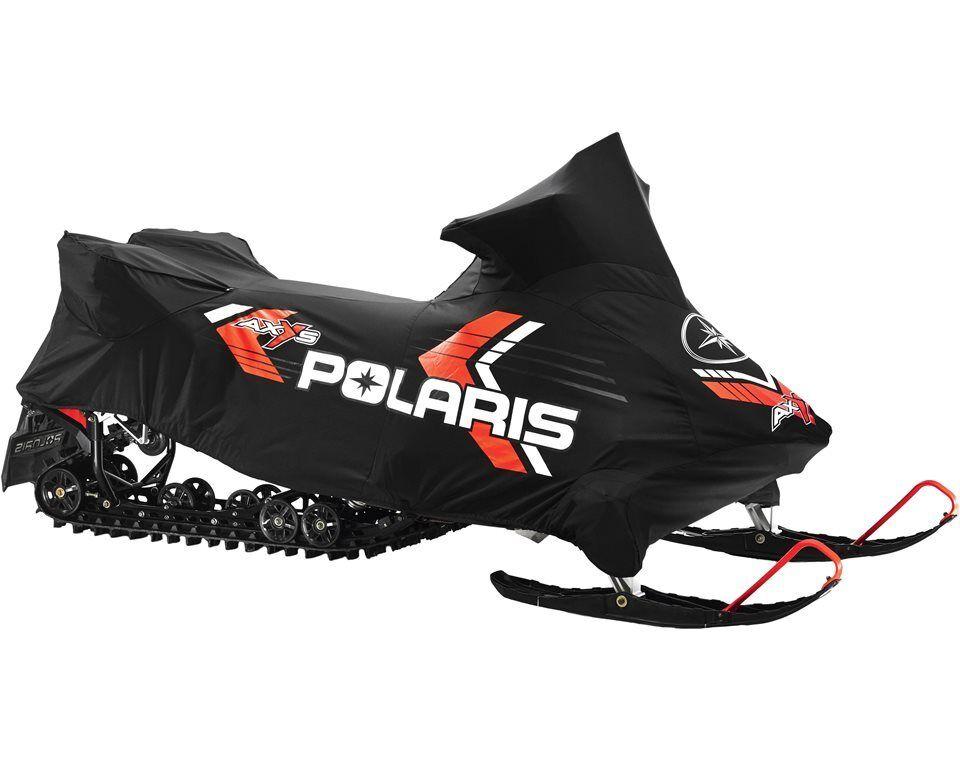 Polaris Axys Switchback Adventure Snomobile w/Saddle Bags Canvas Cover 2882138