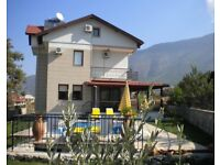 Villa Haze is a four Bed detached villa, with a private swimming pool based in Hisaronu