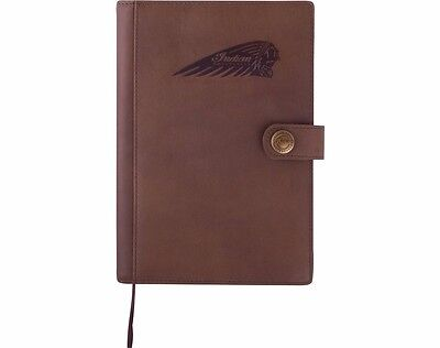GENUINE INDIAN MOTORCYCLE LEATHER NOTEBOOK BROWN LEATHER 2863913