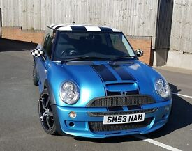 MINI COOPER S SUPERCHARGED motd with FULL SERVICE HISTORY