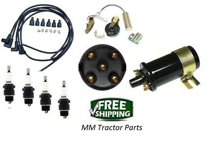 Ignition Tune Up Kit Coil Ih Farmall 100 130 140 200 230 240 300 330 340 350