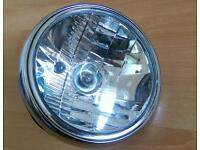 Motorcycle battery and Headlight