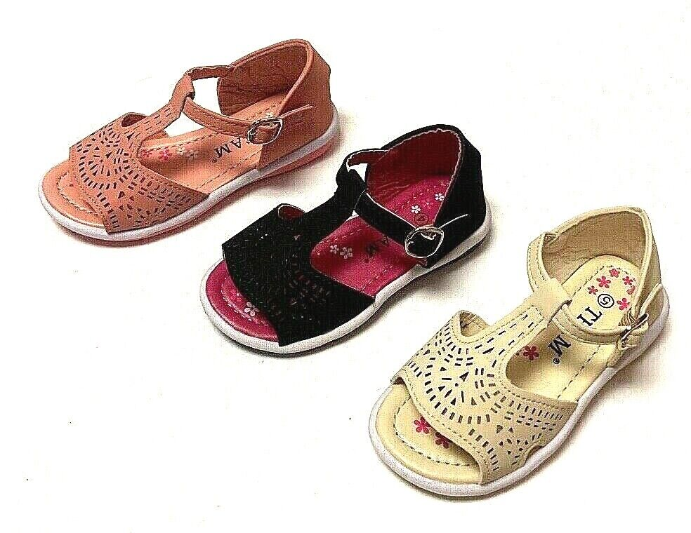 Newborn Baby Girl Soft Sole Crib Shoes Infant Toddler Summer