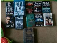 Set of 11 books.