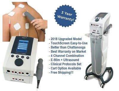 Intensity Cx4 Combo - 4 Channel E-stim Ultrasound Upgrade From Chattanooga