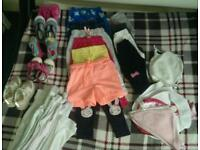 Clothes for baby girl 0-2yrs