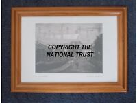 "Framed Print of ""Birth of the Ark Royal"" National Trust print by Chambre Hardman. Perfect condition."