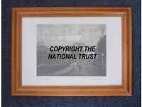"""""""Birth of the Ark Royal"""" - Genuine National Trust print by Chambre Hardman April 1950. Perfect cond."""