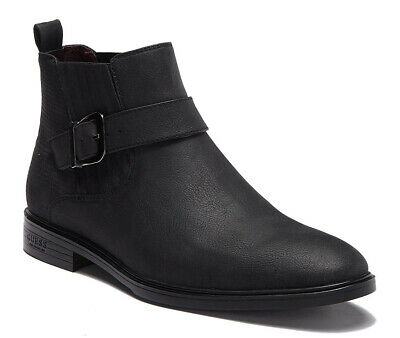 New - GUESS Corio Buckle Men Boots (Mens Guess Boots)