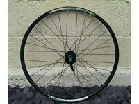26' mountain bike disc front wheel