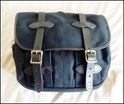Filson Rugged Twill/Leather Field Bag   |Utility|Camera|Carry On|Travel