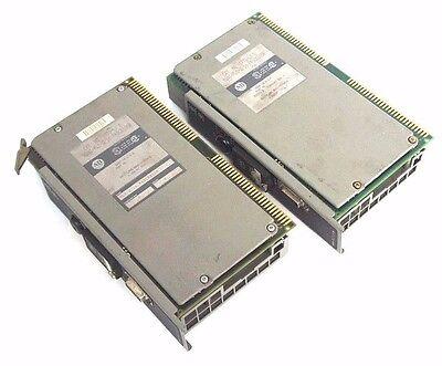 Lot Of 2 Allen Bradley 1772-lx D Mini-plc-216 Processors Ser D Firmware Rev F