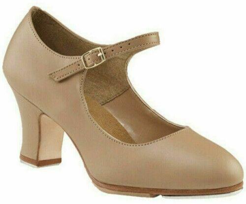 New Capezio Dance Manhattan Xtreme Character Tap Shoe 657 CAR Women 8W or 8.5M