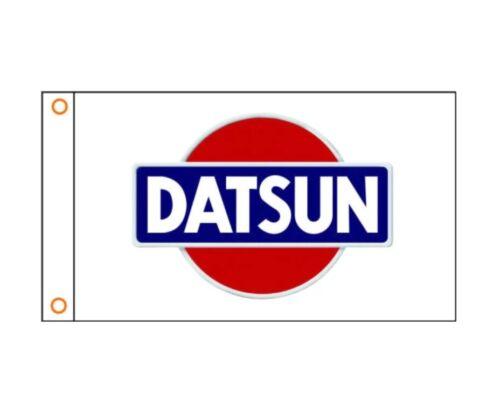 New 90x150cm Datsun Nissan Racing F1 WRC JDM Car Service Gift Drift Race